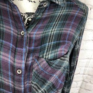 Free People Tops - Free People Joplin Plaid Shirt